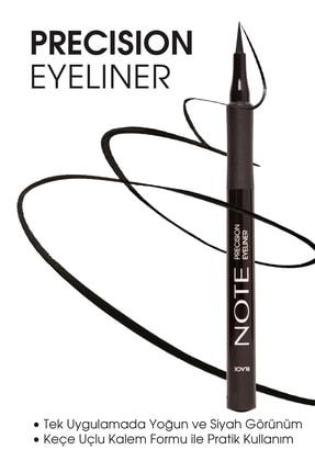 Note Cosmetics Siyah Eyeliner - Precision Eyeliner Black 8680705332013 0