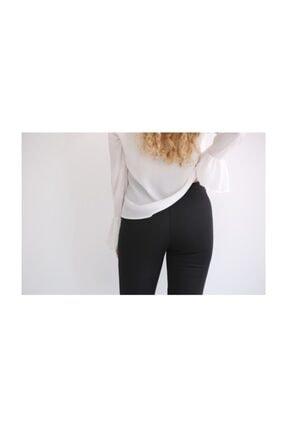 Modaonna Siyah Yüksek Bel Ispanyol Pantolon 1