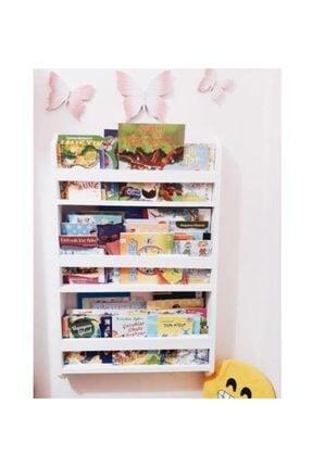 ue mobilya Montessori Kitaplık 3 Raflı 0