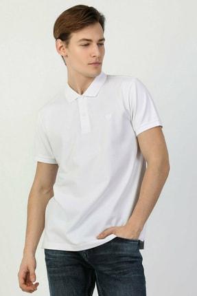 Colin's Regular Fit Polo Yaka Beyaz Erkek Kısa Kol Tişört CLTKTTSHM0766200 0
