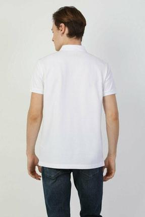 Colin's Regular Fit Polo Yaka Beyaz Erkek Kısa Kol Tişört CLTKTTSHM0766200 1