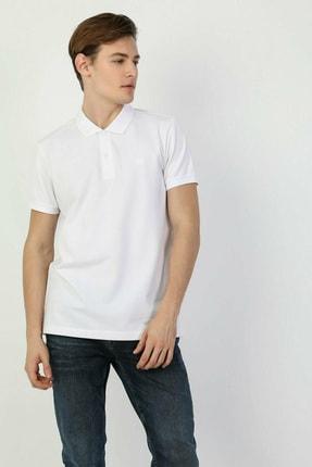 Colin's Regular Fit Polo Yaka Beyaz Erkek Kısa Kol Tişört CLTKTTSHM0766200 2