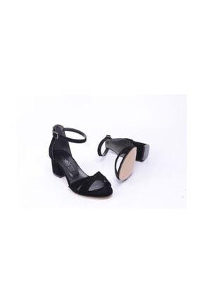 Ayakkabin11 Kadın Topuklu Tek Bant Ayakkabı 2