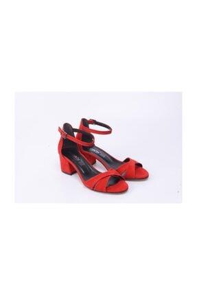 Ayakkabin11 Kadın Tek Bant Topuklu Ayakkabı 3
