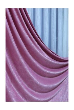 MİLANO HOME Soft Fonluk Pilesiz - Gül Kurusu En 200x260 Boy 2