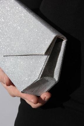 Rovigo Kadın  Deri Gümüş Çanta 1