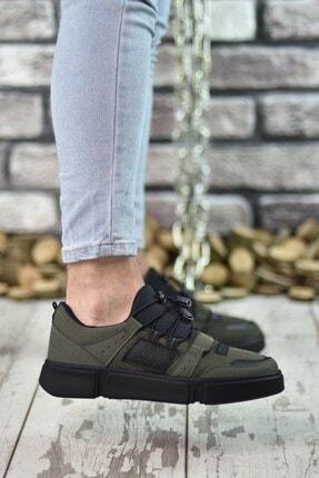 Riccon Haki Siyah Erkek Sneaker 00122023 2