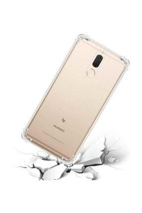 Dijimedia Huawei Mate 10 Lite Kılıf Şeffaf Köşe Korumalı+ekran Koruyucu Nano Cam 1