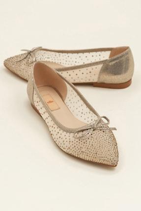 Elle JEANETTA Altın Kadın Casual Ayakkabı 0