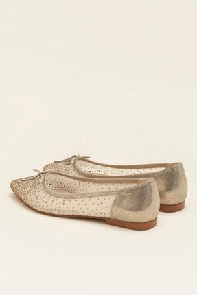 Elle JEANETTA Altın Kadın Casual Ayakkabı 2