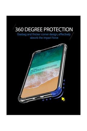Dijimedia Iphone Xr Kılıf Şeffaf Köşe Korumalı+ekran Koruyucu Nano Cam 2