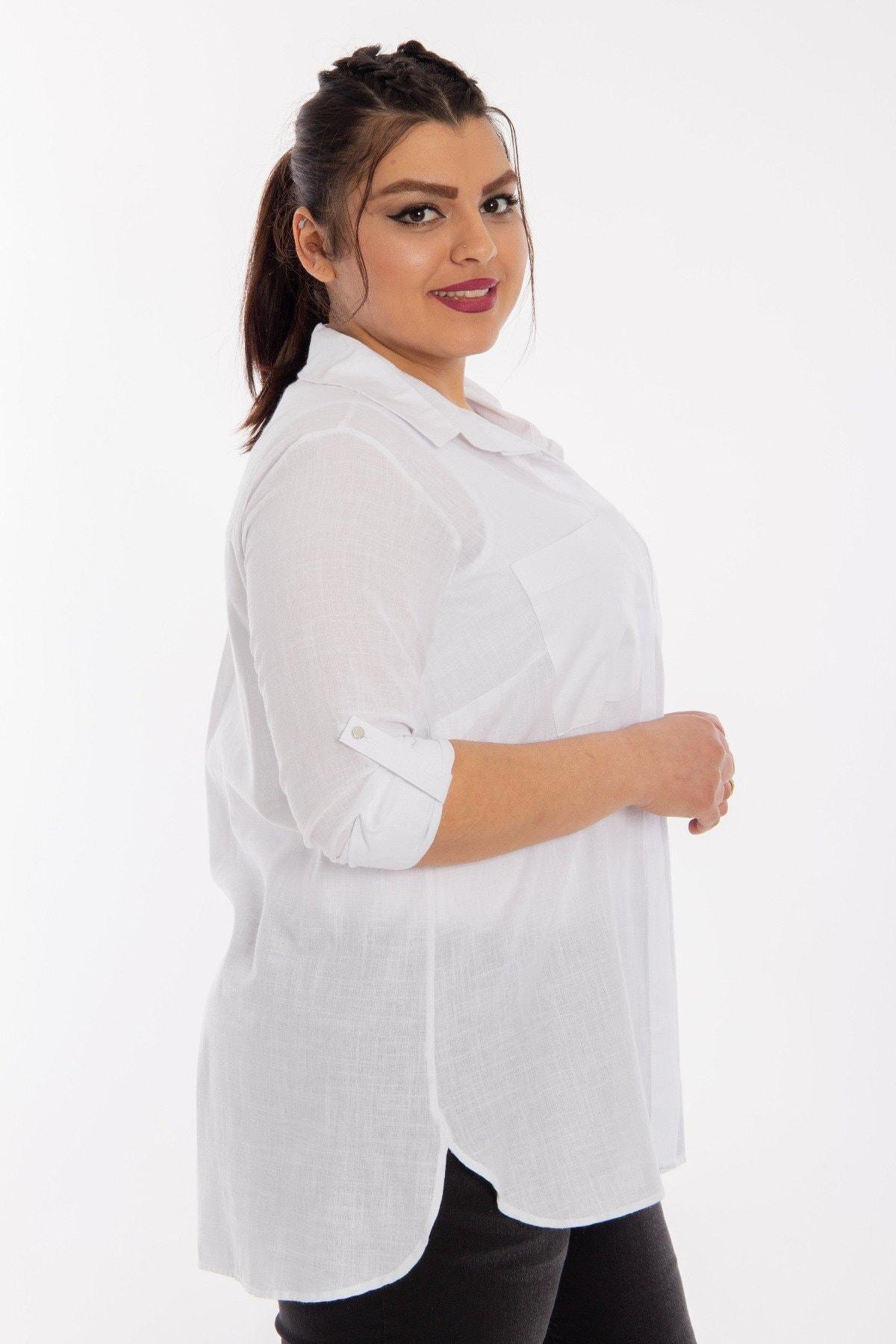 Hanezza Cep Detaylı Gömlek 2