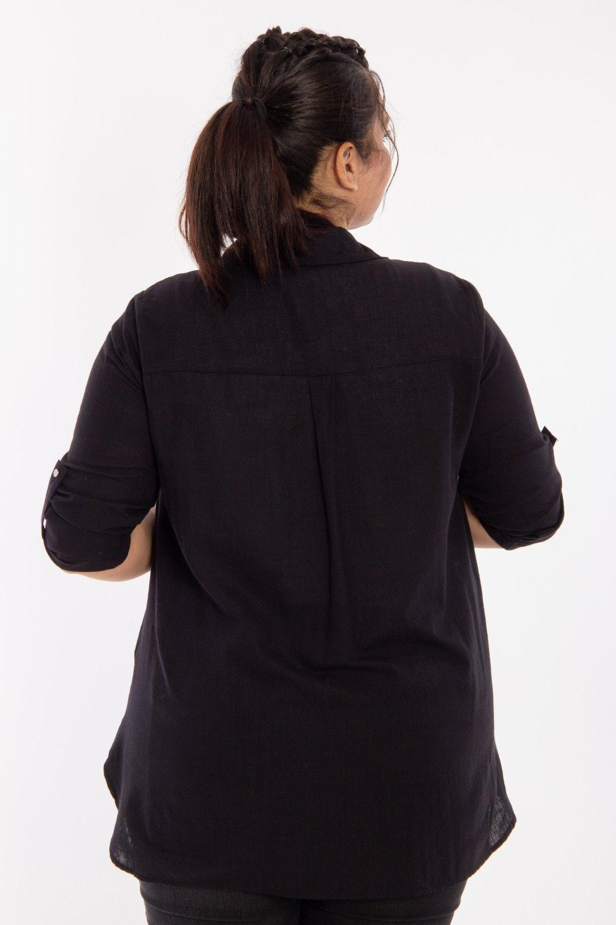 Hanezza Cep Detaylı Gömlek 3