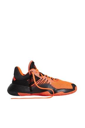 adidas D.O.N Issue Erkek Turuncu Basketbol Ayakkabısı EH2133 0