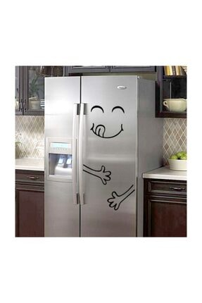 Modatools Buzdolabı Yaratıcı Dekoratif Sticker Çıkartma 0