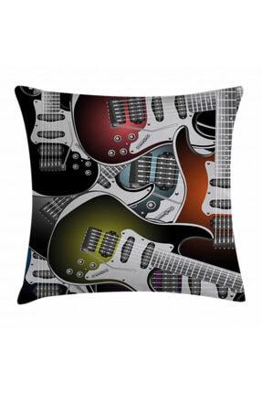 Orange Venue Müzik Minder Kılıfı Rengarenk Gitarlar 0