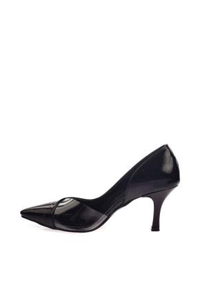Dgn Siyah Rugan Kadın Topuklu Ayakkabı 152-186 1