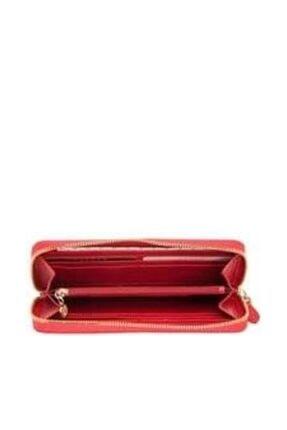 Kırmızı Kadın Cüzdan TERGAN-5777