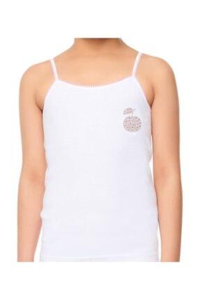 Tutku İç Giyim Kız Çocuk İp Askılı Gökkuşağı Atlet 6lı Paket 1