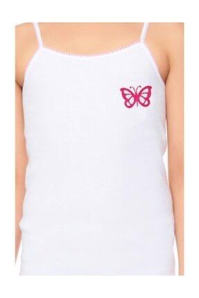Tutku İç Giyim Kız Çocuk İp Askılı Gökkuşağı Atlet 6lı Paket 2
