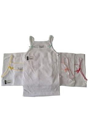 Tutku İç Giyim Kız Çocuk İp Askılı Gökkuşağı Atlet 6lı Paket 4