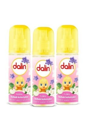 Dalin Bebek Kolonyası Floral 150 Ml X 3 Adet 0
