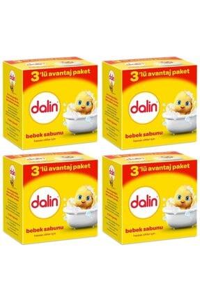 Dalin Bebe Sabun 100 gr (3lü Avantaj Paketi) X 4 Adet 0