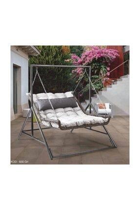 Capri swing Capri Bed Çiftli Rattan Bahçe Balkon Salıncağı 0