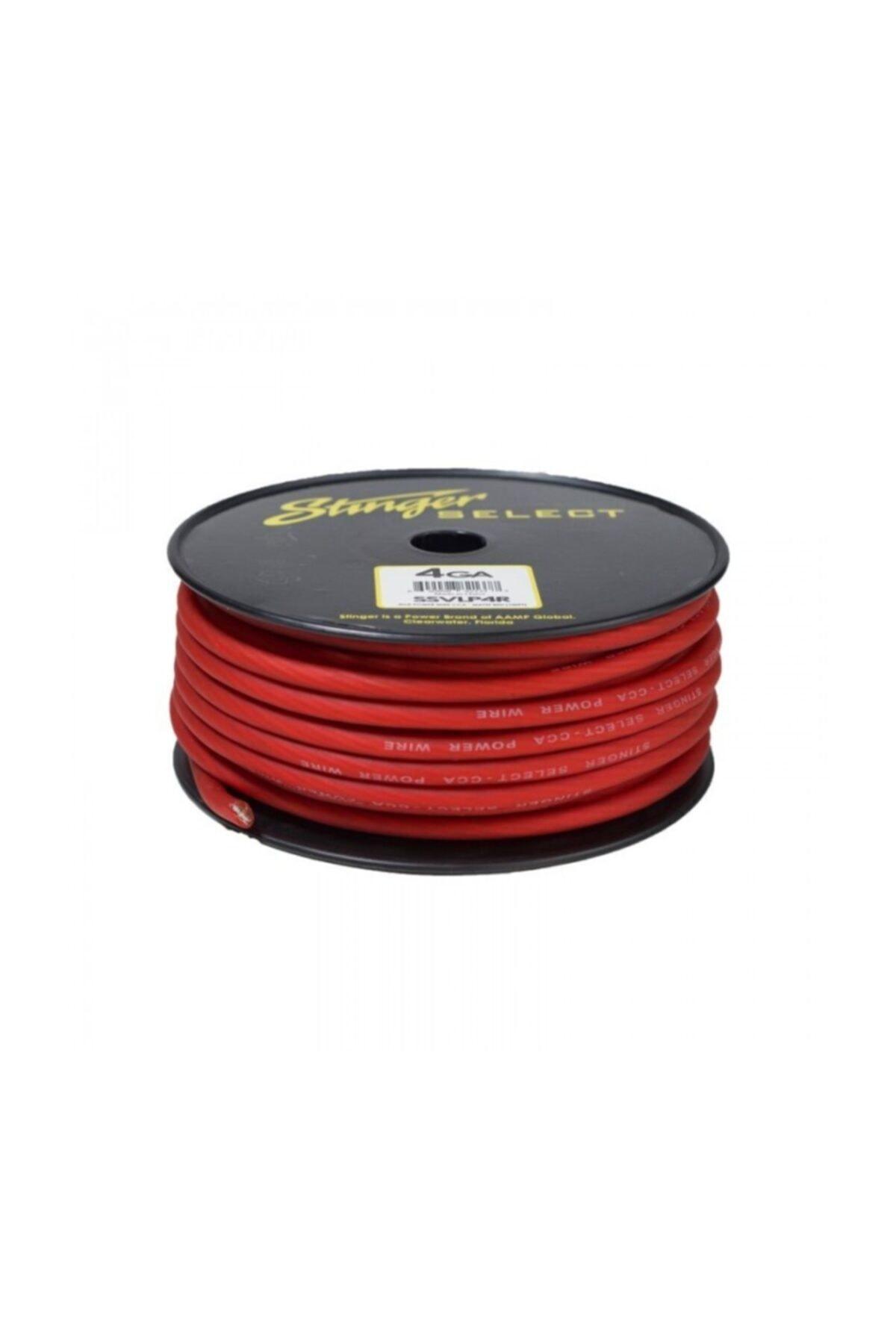 Ssvlp4r 4ga Mat Kırmızı 30,5 Metre Elektrik Kablosu