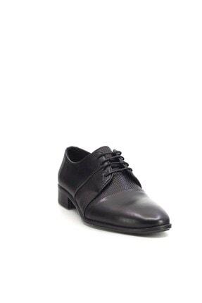 MARCOMEN Hakiki Deri Erkek Klasik Ayakkabı Siyah 20y 5095 2