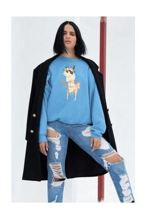 Angemiel Kadın Sweatshirt 1