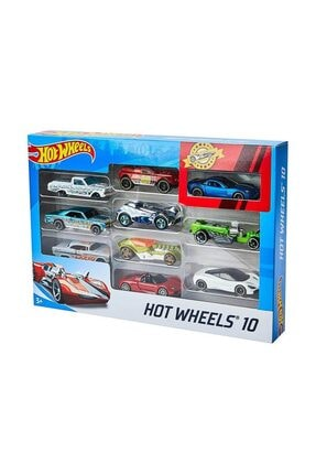 HOT WHEELS Hot  Wheels 10'lu Araba - Karışık 2