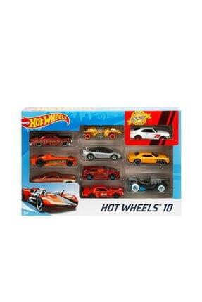 HOT WHEELS Hot  Wheels 10'lu Araba - Karışık 3