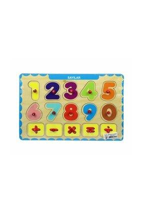 Biblio Lisanslı Üç Boyutlu Puzzle Tutmalı / Sayılar 0