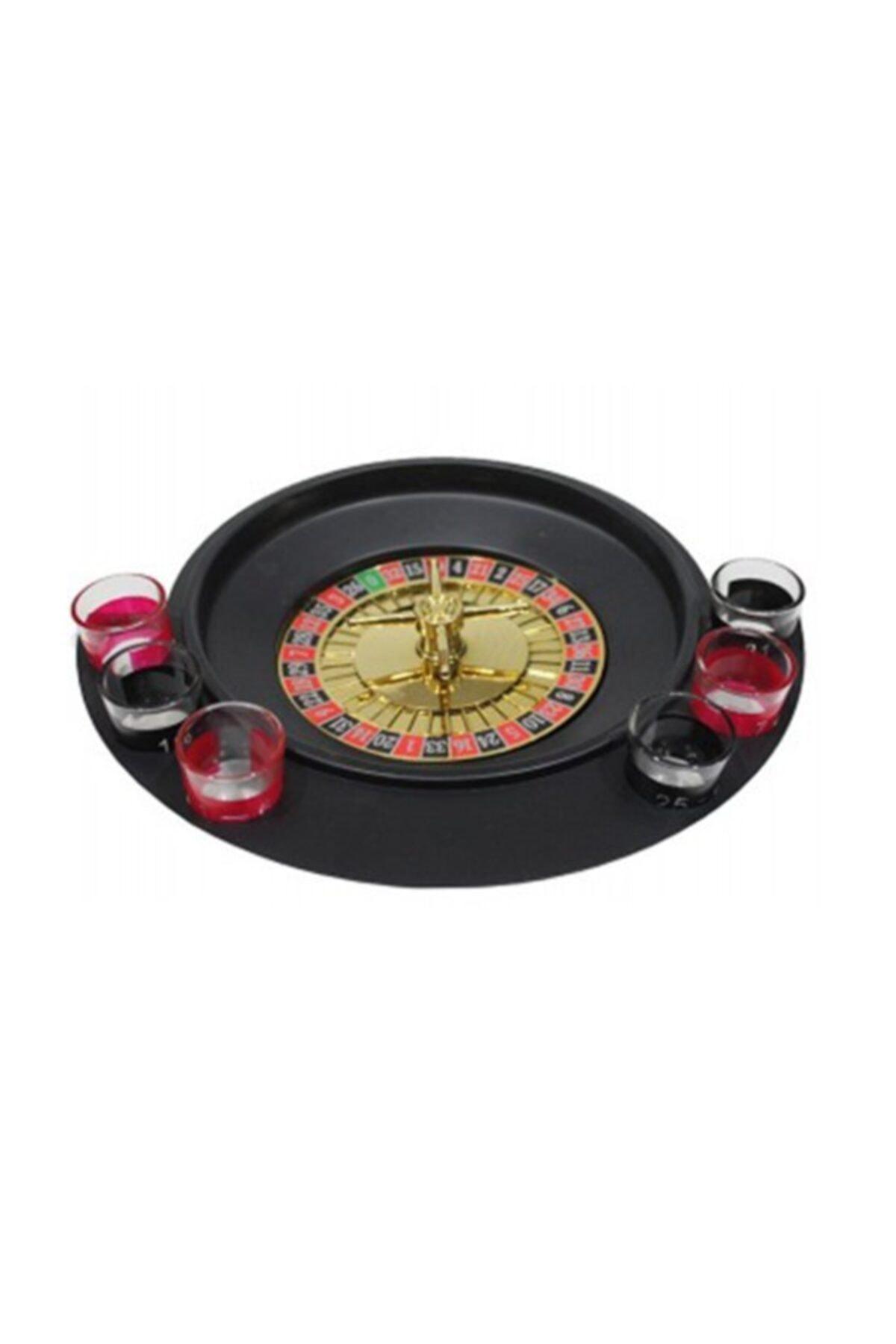 6 Shot Bardaklı Rus Ruleti Drinking Roulette Tekila İçki Oyun Seti