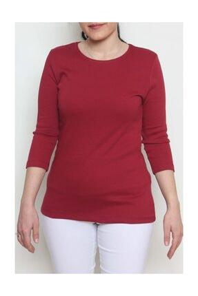 Cottoncool Kadın %100 Pamuk Truvakar Kol Bluz 1