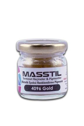 Masstil Epoksi Masstil Metalik Toz Pigment Gold 10 Gram 0