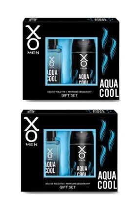 Xo Aqua Cool Men Edt 100 Ml + Deodorant 125 Ml X 2 Adet 0