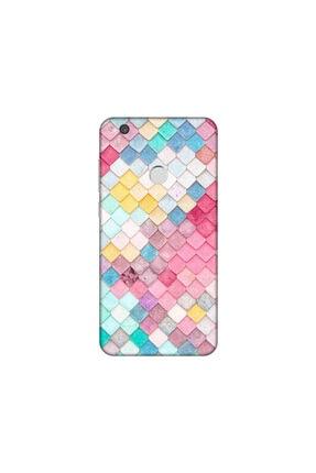 KAPAK OLSUN Huawei P9 Lite 2017 Color Pul Telefon Kaplaması 0