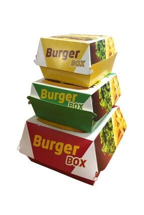 GİZPAK Hamburger Kutusu Küçük 9x9x7cm 1