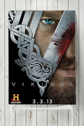 Postermanya Vikings Dizi Afişi 0