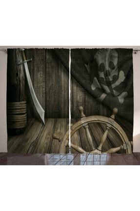 Orange Venue Denizci Perde Kılıç Ve Korsan Temalı 0