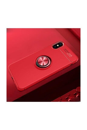 Dijimedia Iphone X Kılıf Yüzüklü Standlı Mıknatıslı+ekran Koruyucu Nano Cam 1