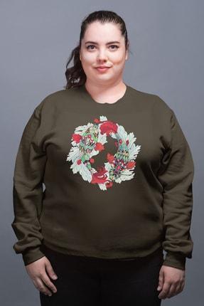 Angemiel Wear Balık Burcu Yeşil Kadın Sweatshirt 0