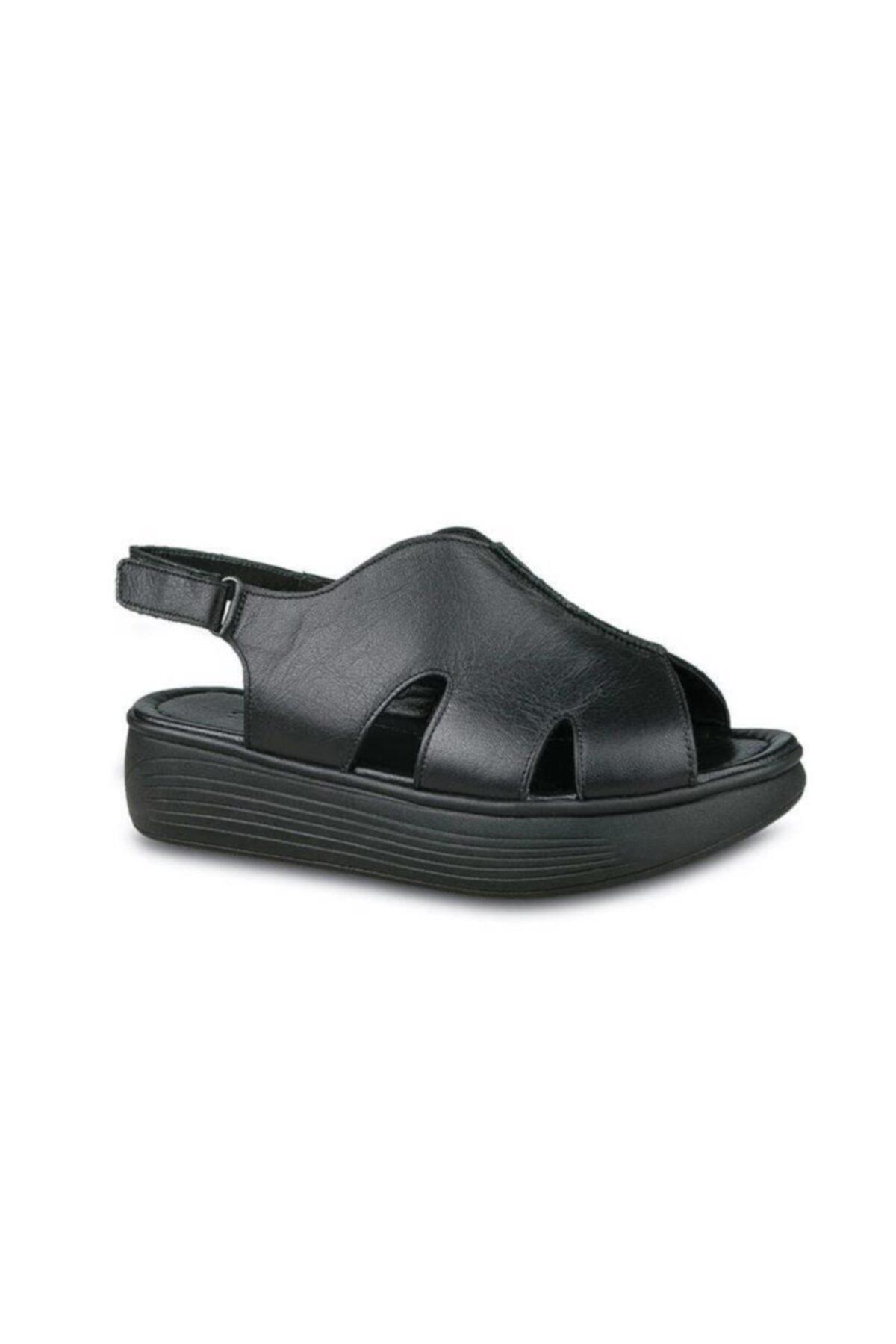 Ceyo 502 Hakiki Deri Anatomik Sandalet