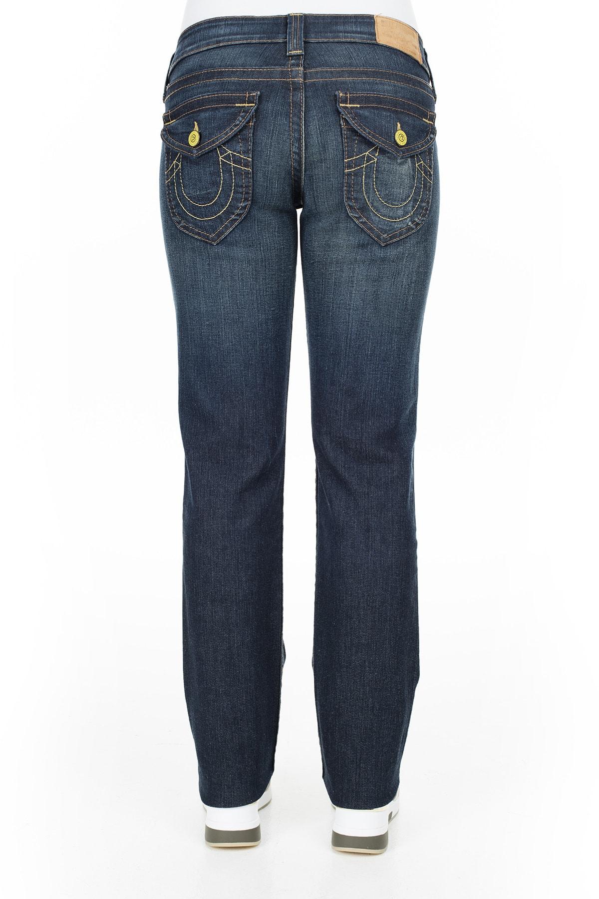 True Religion Jeans Kadın Kot Pantolon W102076E41D1 3