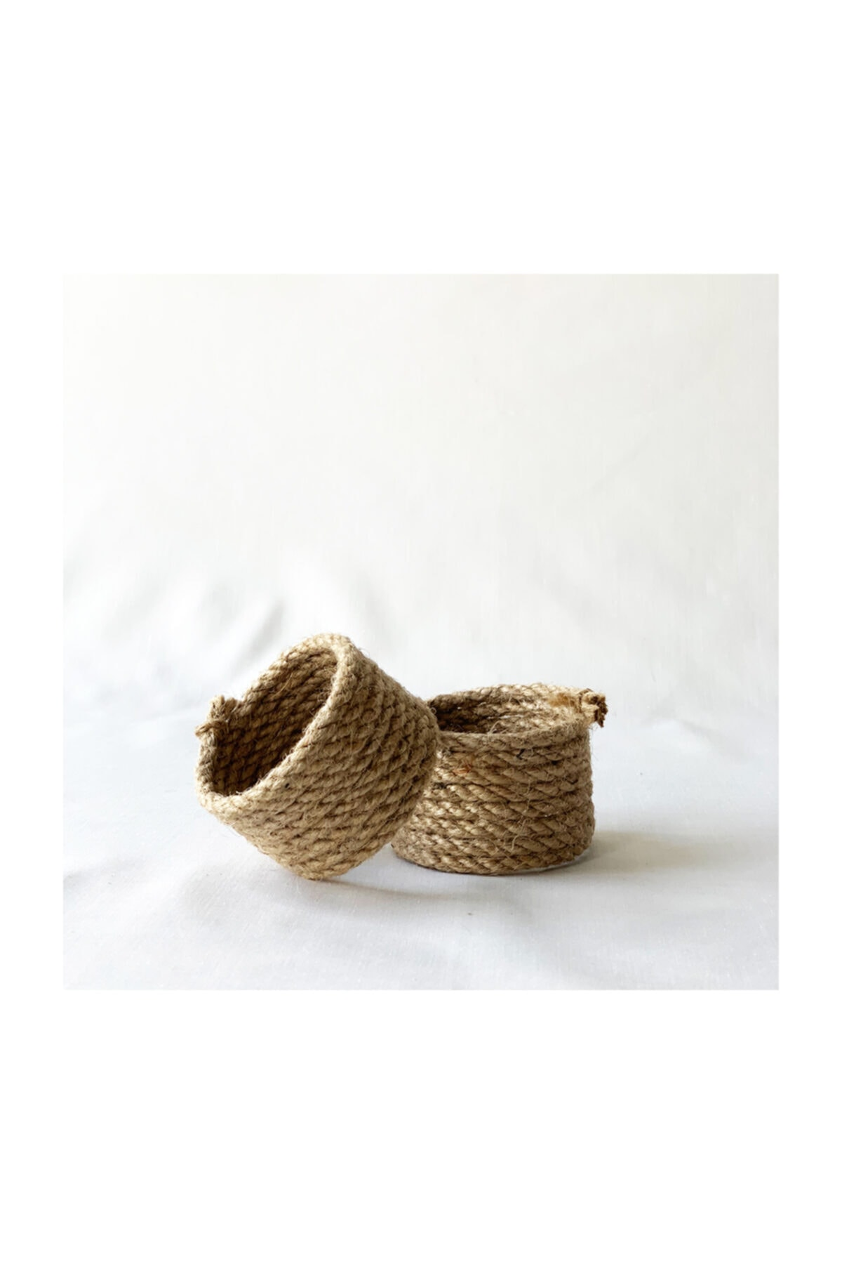 Rope Napkin Rings 2'li Set