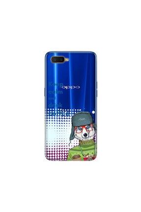 cupcase Oppo Rx 17 Neo Kılıf Desenli Esnek Silikon Telefon Kabı Kapak - Coffee 0