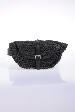 تصویر از Kadın Siyah Bel Çantası sghsr1028-siyah
