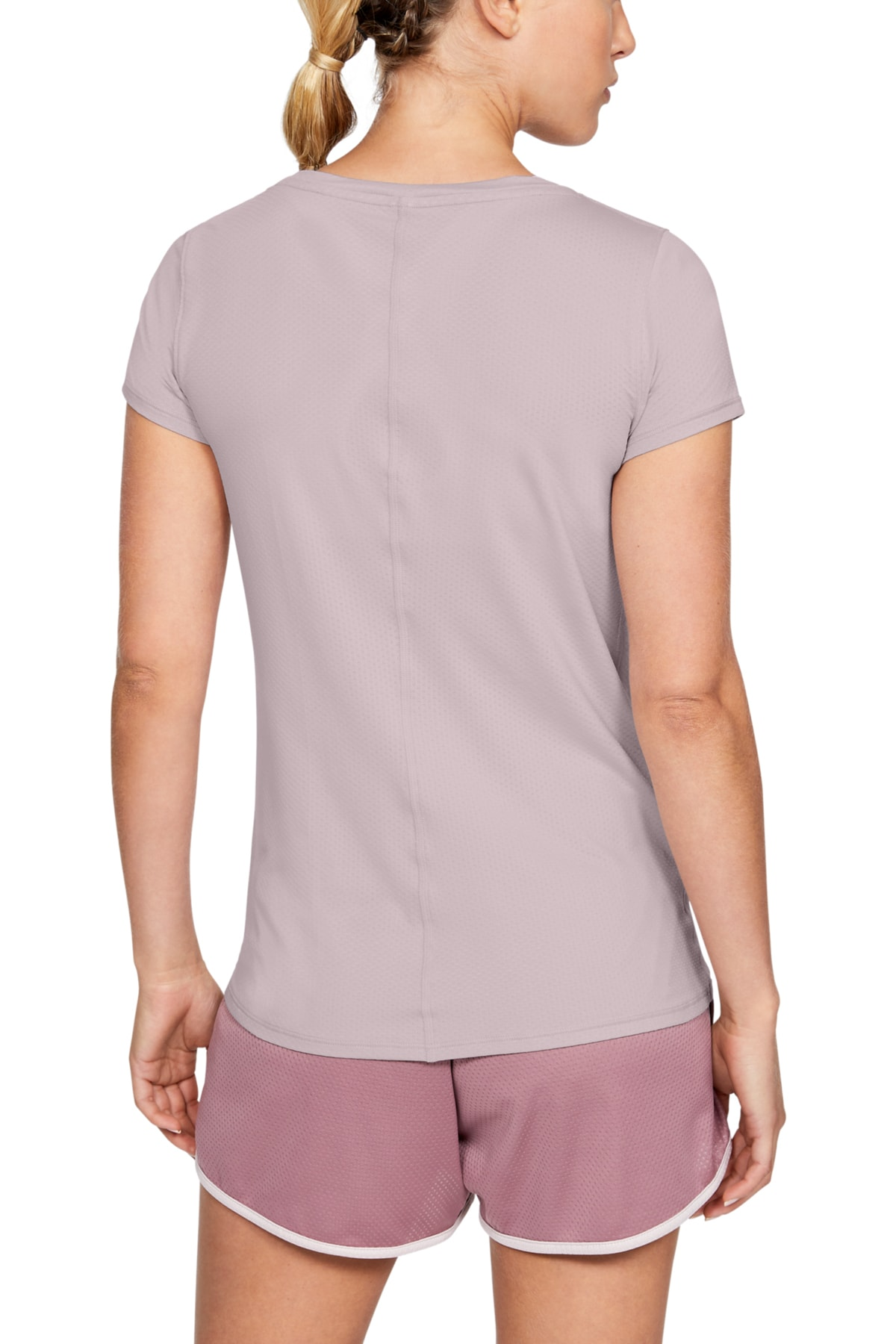 Under Armour Kadın Spor T-Shirt - Ua Hg Armour Ss - 1328964-667